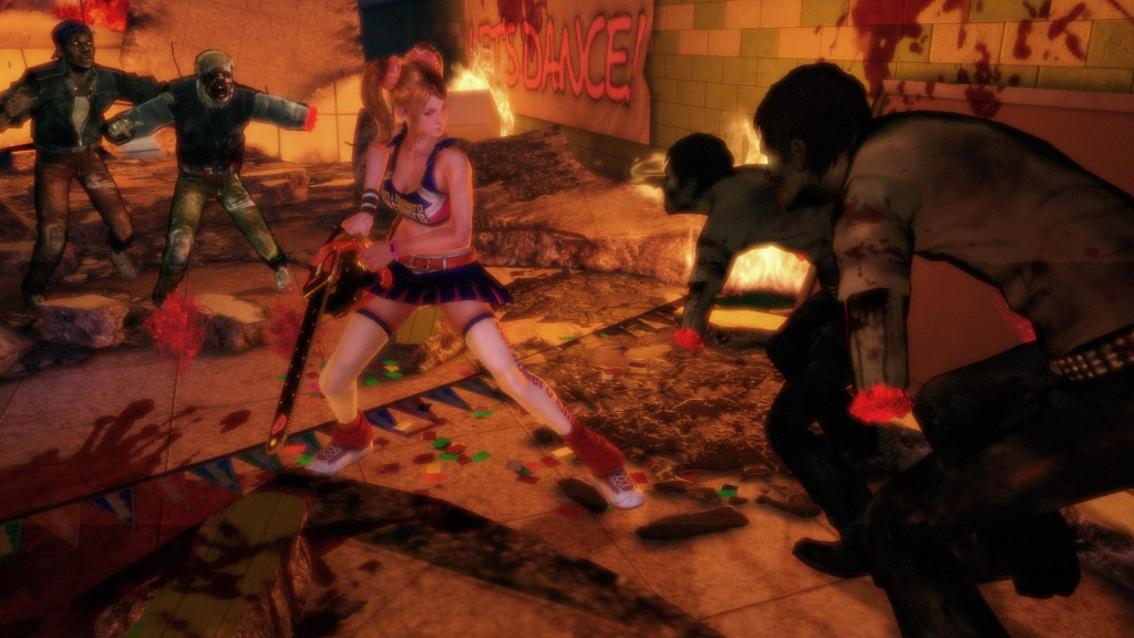 Lollipop Chainsaw has its dark moments; not everything is sparkles and rainbows.
