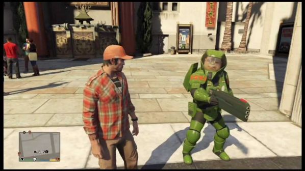 Master Chief GTA 5 Easter Egg