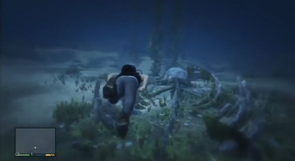 GTA 5 Sea Creature Easter Egg