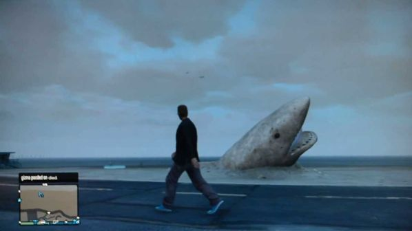 Shark Sand Castle GTA 5 Easter Egg