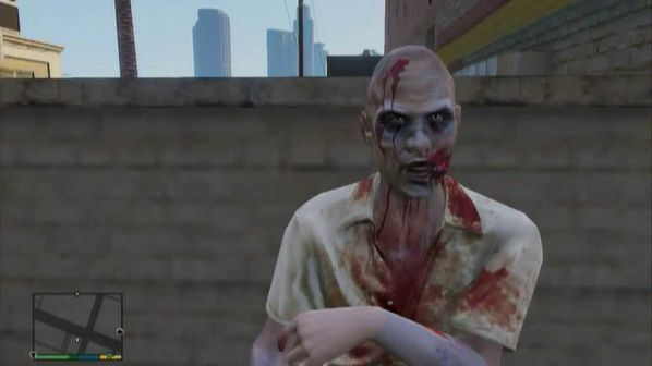 Zombie GTA 5 Easter Egg